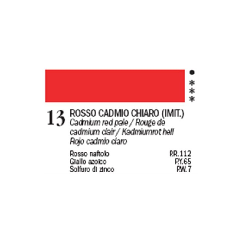 Rosso Cadmio Chiaro