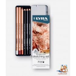 Sketching set Lyra