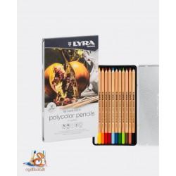 Lyra Polycolor Pencils 12...