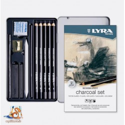 Charcoal Set Lyra