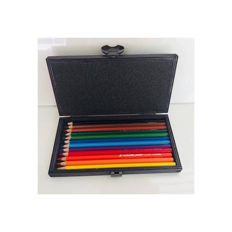 Confezione 12 matite acquarellabili
